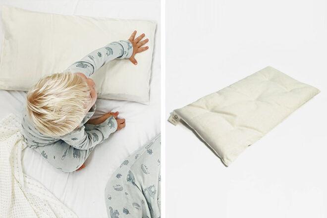 Natures Sway Organic Toddler Pillow