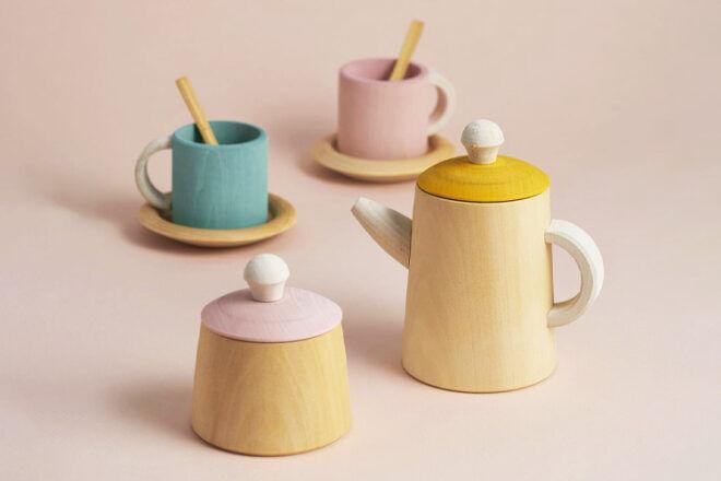 Raduga Grez Wooden Tea Set