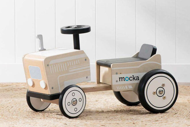 Mocka Kids' Ride On Toy Tractor