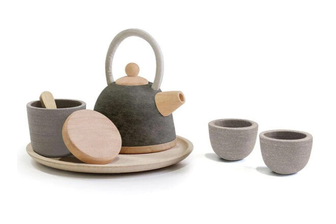 Plan Toys Oriental Tea Set for Kids