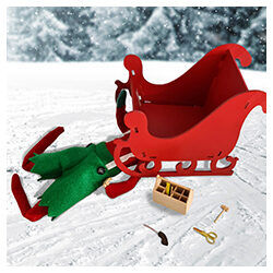 My Magical Moments Elf and sleigh