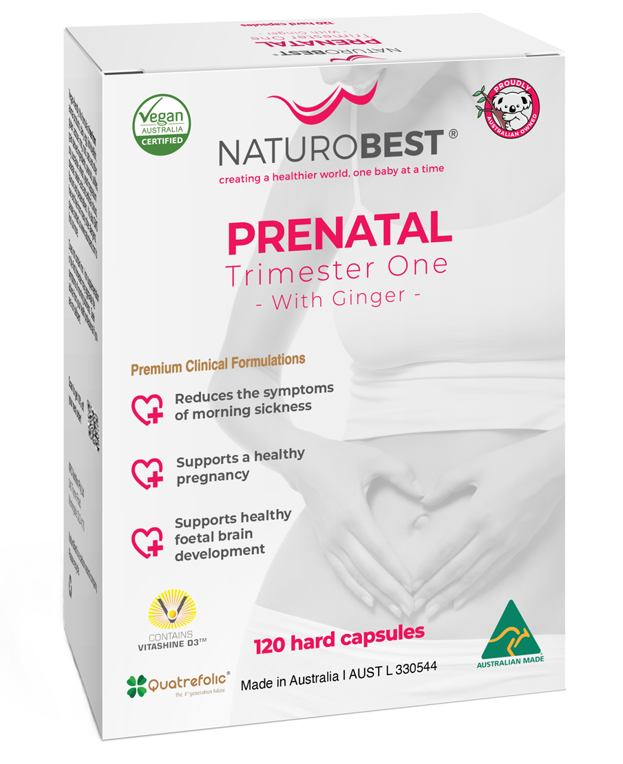 NaturoBest Prenatal Trimester One with Ginger