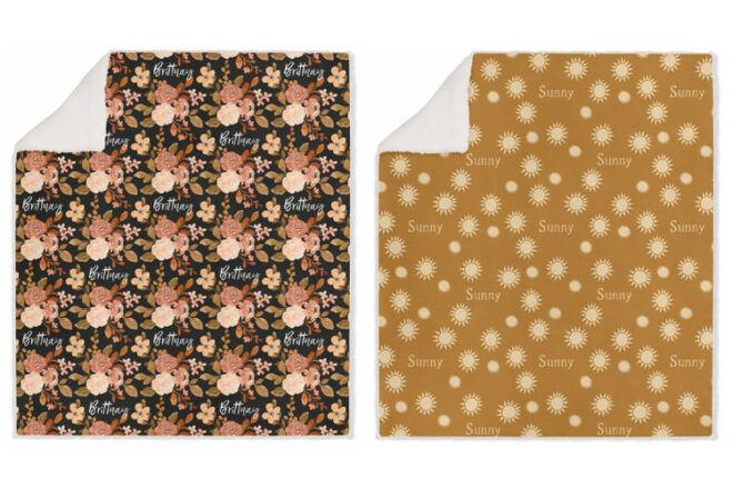 Custom Co Personalised Blankets