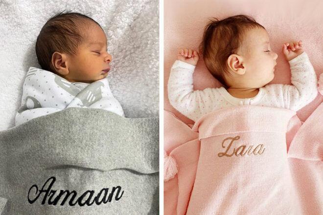 Junior Co Personalised Blankets