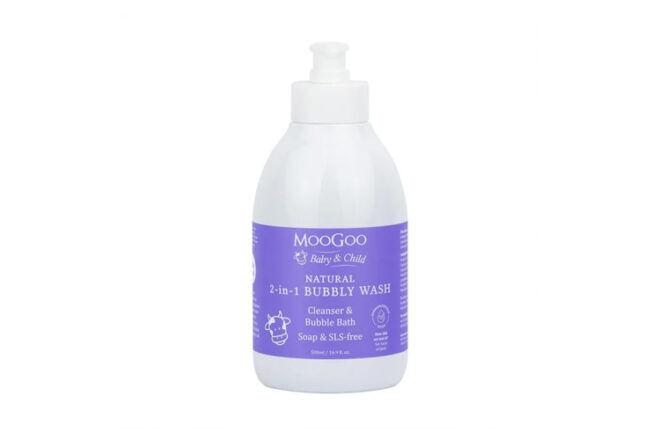 MooGoo Natural 2-in1-Bubbly Wash