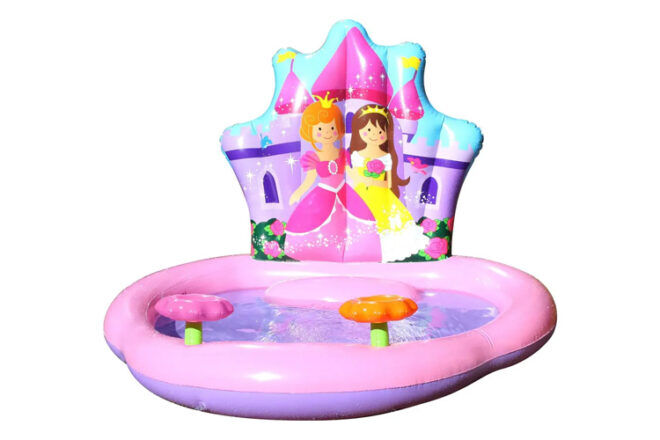 Airtime Inflatable Princess Paddle Pool