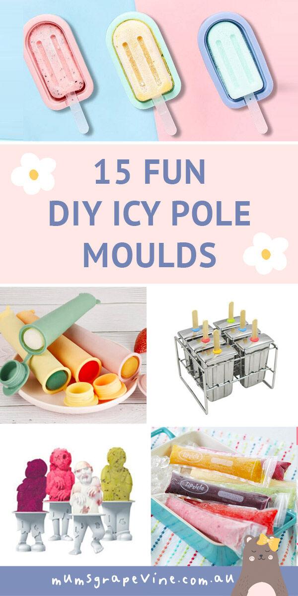 15 icy pole moulds for frozen treats | Mum's Grapevine