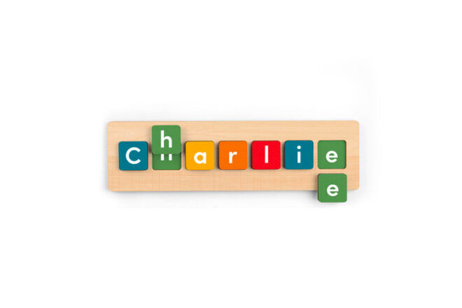 12 name puzzles for learning tots | Mum's Grapevine