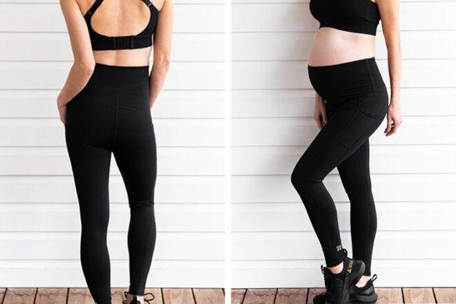 Maze Activewear Maternity Leggings