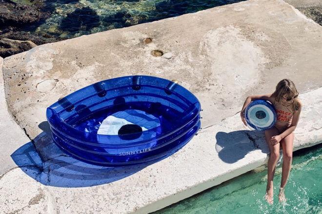 Sunnylife The Eye Inflatable Pool
