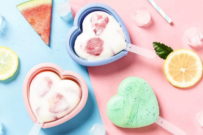 The Little Cook Ice Cream Moulds