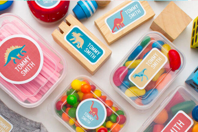 11 kids' name labels for school supplies | Mum's Grapevine